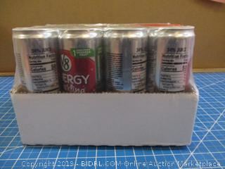 V8 Energy Sparkling Blackberry Cranberry + Energy
