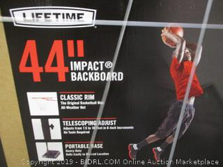 "Lifetime 44"" Impact Backboard"