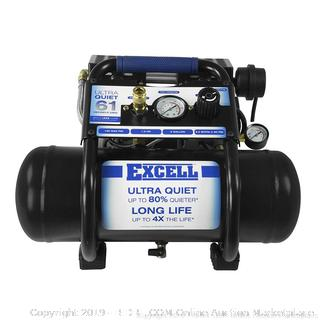 2 Gallon Ultra Quiet Air Compressor (online $119)