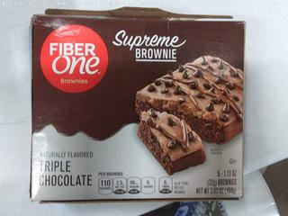 Fiber One Supreme Brownie Triple Chocolate