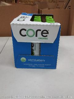 core organic wild blueberry nutrient-dense fruit hydration 12 pack