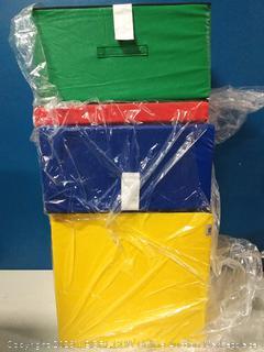 foamnasium gymnasium playset red blue yellow green (online $124)