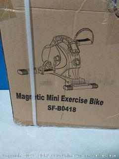 magnetic mini exercise bike (online $93)