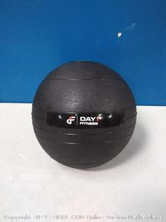 Day 1 Fitness Weighted Slam Ball 30 lbs - No Bounce Medicine