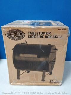 Portable Tabletop Charcoal Grill and BBQ Smoker Outdoor (online $66)