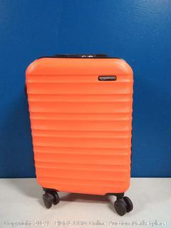 Hardside Carry On Spinner Travel Luggage Suitcase - 21 Inch, Orange