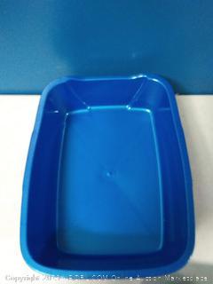 Van Ness small plastic cat pan, 4 ct