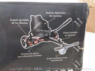 fast wheel hoverboard racing kit