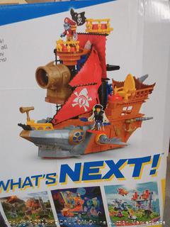 Fisher Price Imaginext Shark Bite Pirate Ship