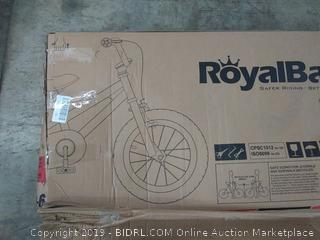 "RoyalBaby Freestyle Kid's Bike for Boys and Girls, 14"" Wheels, in Blue (Online $110.96)"