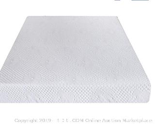 Olee Sleep 8 Inch (FULL) Ventilated Convolution Memory Foam Mattress 08FM01F