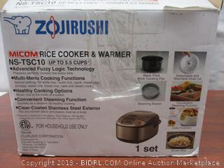Zojirushi NS-TSC10 5-1/2-Cup Rice Cooker and Warmer (Retail $160)