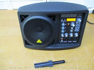 """BEHRINGER B207MP3 Active 150-Watt 6.5"""" Pa/Monitor Speaker System with Mp3 Player"""