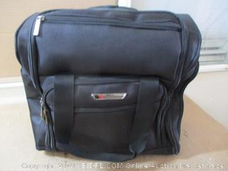 """TPRC 15"""" Smart Under Seat Carry-On Luggage with USB Charging Port (Zipper Damaged)"""