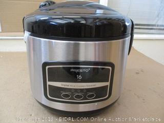 Presto 16 Cup Rice Cooker
