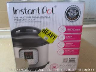 Instant Pot Duo 60 7 In 1 Multi-Use Programmable Pressure Cooker
