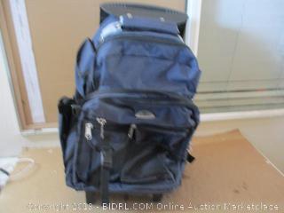 Everest Deluxe Wheeled Backpack, Navy