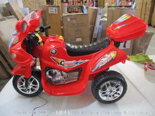 Best Choice Products- Powersports Trike Connect- Ride On Toy (missing hardware for Rear Saddle)