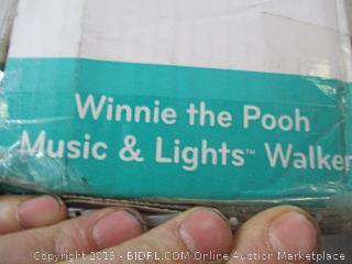 Disney baby- Winnie the Pooh Music & Lights Walker