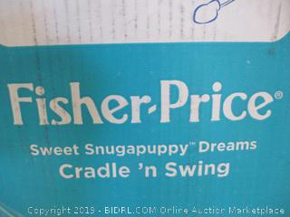 Fisher Price- Sweet Snugapuppy Dreams- Cradle 'n Swing