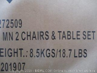 Delta Children- Kids Table and Chair Set ( Plastic Sealed)