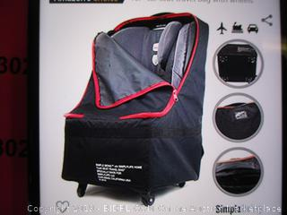 SimpleBeing- Baby Car Seat Travel Bag w/ Wheels