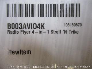 Radio Flyer- 4 in 1 Stroll 'N Trike