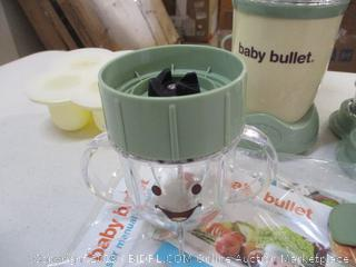 Magic Bullet-Baby Bullet- Baby Food System