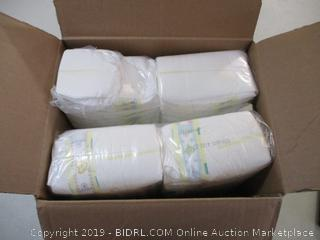 Pampers- Swaddlers- Diapers- size N- 120 Ct Box ( 1 of 4 packages open)