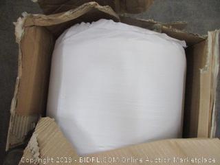 "8"" Memory Foam Comfort Pressure Relief Mattress Size Twin (Box Damaged)"