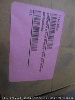 "8"" Memory Foam and Innerspring Hybrid Mattress Size Full (Box Damaged)"
