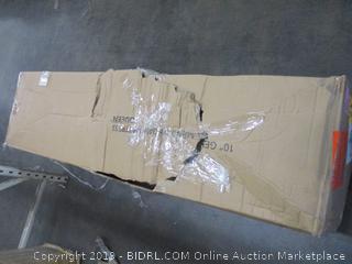 """10"""" Gel Memory Foam Mattress Size Queen (Box Damaged)"""