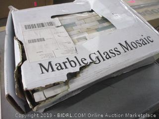 Marble Glass Mosaic Tile (Box Damage)