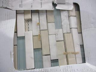 Marble Glass Mosaic Tile (Box Damage)