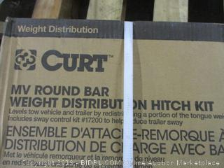 Curt MV Round Bar Weight Distribution Hitch Kit (Incomplete)