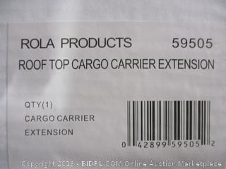 Roof Top Cargo Carrier Extensision