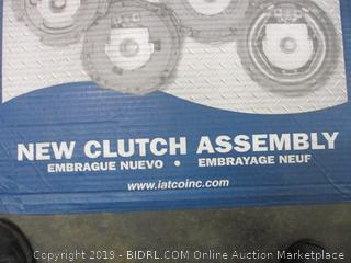 New Clutch Assembly