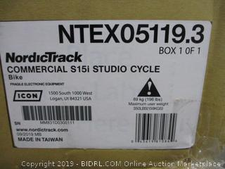 NordicTrack Commercial Studio Cycle Bike (Box Damaged)