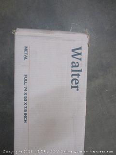 "Standard Profile 7.5"" Metal Box Spring w/ Wood Slats Size Full (Box Damaged)"