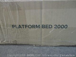 Platform Bed 2000 Size Queen (Box Damaged)