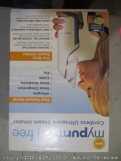 Cordless Ultrapure Steam Inhaler