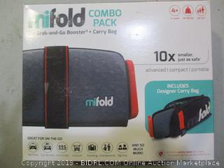 Mifold Grab-and-Go Booster + Carry Bag Combo Pack