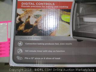 Black + Decker Digital Convection Countertop Oven