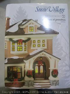 The Snow Village Department 56