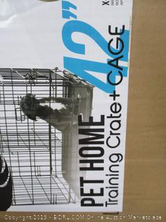 Pet Home Training Crate + Cage