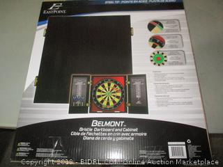 Bristle Dartboard and Cabinet