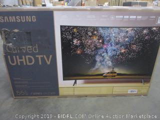 "Samsung Curved 55"" UHD TV"