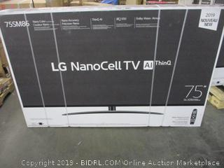 "LG NanoCell 75"" TV (Sealed)"