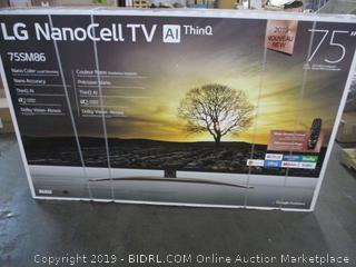 "LG NanoCell 75"" TV (Sealed)"