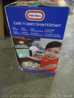 Little Tikes kitchen-cuisine cook 'n learn smart kitchen toy set
